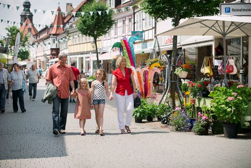 Bad Lauterbergs Shoppingmeile<br>(Bild: Stadtmarketing Bad Lauterberg im Harz)